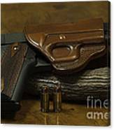 1911 Concealed Carry Canvas Print