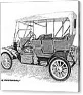 1911 Maxwell A B Canvas Print