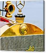 1911 Mercedes 50 Hp Maythorn Tourer Hood Ornament Canvas Print