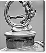 1912 Gobron-brillie 12 Cv Skiff Hood Ornament 2 Canvas Print