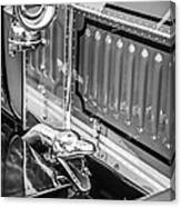 1912 Rolls-royce Silver Ghost Rothchild Et Fils Style Limousine Snake Horn -0711bw Canvas Print