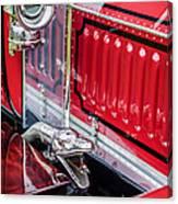 1912 Rolls-royce Silver Ghost Rothchild Et Fils Style Limousine Snake Horn -0711c Canvas Print