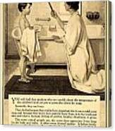 1913 - Proctor And Gamble - Ivory Soap Advertisement Canvas Print