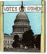 1913 Votes For Women Canvas Print