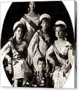 1914 The Romanov Children Canvas Print