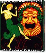 1914 Zurich Theater Arts Festival Canvas Print