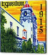 1915 San Diego Exposition Canvas Print