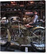 1917 Harley Davidson Canvas Print