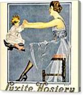 1918 - Luxite Hosiery Advertisement - Color Canvas Print