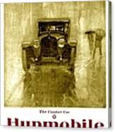1918 - Hupmobile Automobile Advertisement - Color Canvas Print