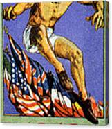 1919 Allied Games Poster Canvas Print