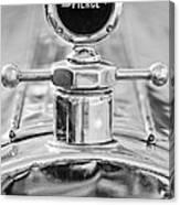 1920 Pierce-arrow Model 48 Coupe Hood Ornament - Motometer Canvas Print