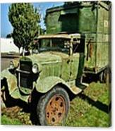 1920s Ford Moving Truck Canvas Print