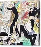 1920s Party 2 Canvas Print