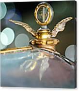 1921 Bentley Motometer Hood Ornament -0471c Canvas Print