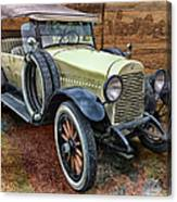 1921 Hudson-featured In Vehicle Enthusiasts And Comfortable Art And Photography And Textures Groups Canvas Print