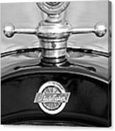 1922 Studebaker Touring Hood Ornament 3 Canvas Print