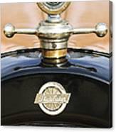 1922 Studebaker Touring Hood Ornament Canvas Print