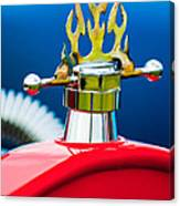 1923 Ford T-bucket Aftermarket Hood Ornament Canvas Print