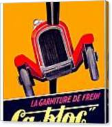 1924 - Ca-bloc Brakes French Advertisement Poster - Color Canvas Print
