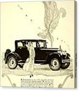 1924 - Rickenbacker Automobile Advertisement Canvas Print