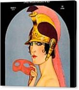 1924 - Theatre Magazine Cover - Color Canvas Print