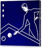 1925 Akatsuki Billiards Of Japan Canvas Print