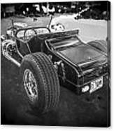 1925 Ford Model T Hot Rod Bw Canvas Print