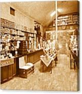 1925 Irish Shoe Store Canvas Print