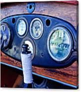 1925 Stutz Series 695h Speedway Six Torpedo Tail Speedster Dashboard Instruments Canvas Print