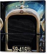 1926 Dodge In Astoria Oregon Canvas Print
