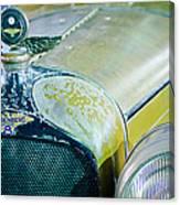 1926 Duesenberg Hood Ornament - Motometer Canvas Print