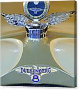 1926 Duesenberg Model A Boyce Motometer Canvas Print