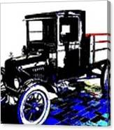 1926 Ford Model T Stakebed Canvas Print