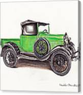 1926 Ford Truck Canvas Print