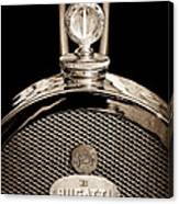1927 Bugatti Replica Hood Ornament - Emblem Canvas Print