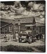 1927 Dodge Braham Bodie Ca Sepia Img 7299 Canvas Print