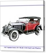 1927 La Salle Dual Cowl Phaeton Canvas Print