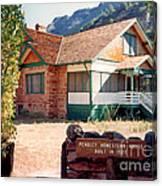 1927 Pendley Homestead House Sedona Canvas Print