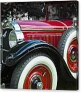 1928 Hupmobile Century Model E4 4 Door Sedan Canvas Print