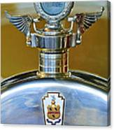 1928 Pierce-arrow Hood Ornament Canvas Print