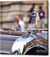1928 Vintage Chrysler 72 Series - Hood Ornament Canvas Print