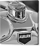 1929 Auburn 8-90 Speedster Hood Ornament 2 Canvas Print