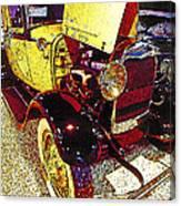 1929 Ford Digital Art Canvas Print
