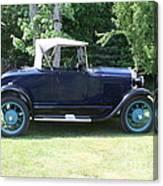 1929 Model-a Roadster 4 Canvas Print