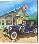 1930 Cord L Towncar Canvas Print