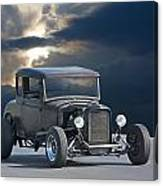 1930 Ford Hiboy Coupe Canvas Print