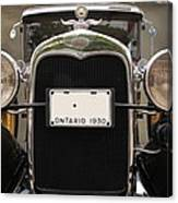 1930 Ford Model A Canvas Print