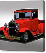 1930 Ford Model A Pick Up Canvas Print