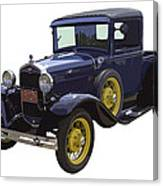 1930 - Model A Ford - Pickup Truck Canvas Print